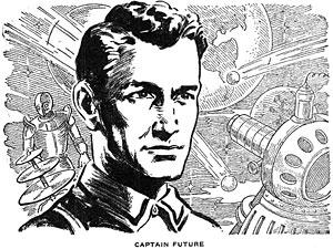 Curt Newton, Captain Future