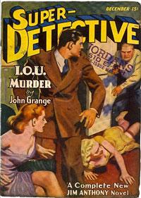 Jim Anthony, Super-Detective
