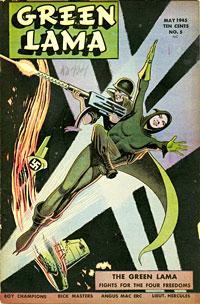 Green Lama comics (May 1945)