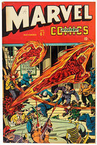 Timely's Marvel Comics