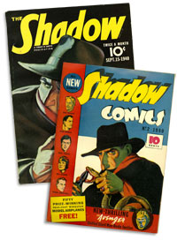 The Shadow pulp and comic