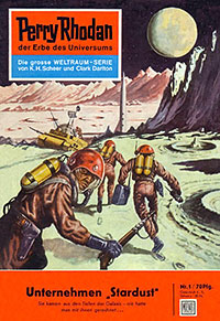 "The first German ""Perry Rhodan"""