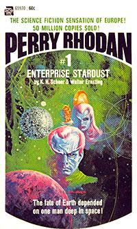 "The first U.S. ""Perry Rhodan"""