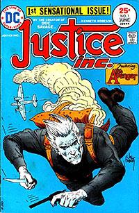"""Justice Inc."" comic book cover"