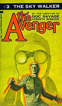"""Warner's """"The Avenger"""" paperback"""
