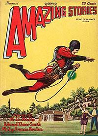 """Amazing Stories"" August 1928"