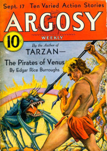 """Argosy"" (Sept. 17, 1932) featuring ""The Pirates of Venus."""
