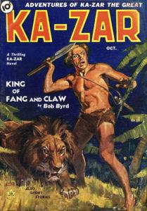 'Ka-Zar' (October 1936)