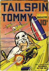 'Tailspin Tommy Air Adventure Magazine' (October 1936)