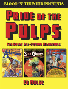 'Blood 'n' Thunder Presents #1: Pride of the Pulps'