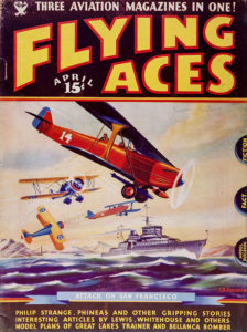 'Flying Aces' (April 1935)
