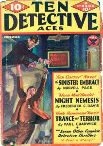 'Ten Detective Aces' (November 1933)