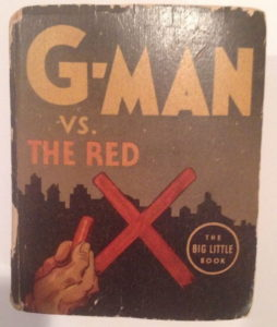 The cover of 'G-Man vs. the Red X'