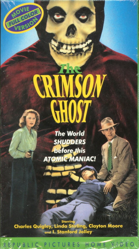 That S Pulp The Crimson Ghost A Colorized Serial