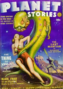 cover of Planet Stories, Spring 1942