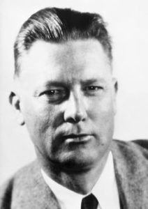 Erle Stanley Gardner, rarely seen without glasses