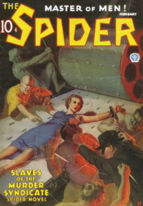 If this cover doesn't just scream 'pulp' then I don't know what does!