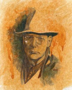 Erle Stanley Gardner - by Ryan Sook
