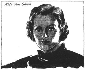 Nita van Sloan, sweetie of The Spider.