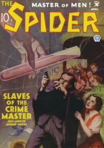 Pulp cover for Slaves of the Crime Master.