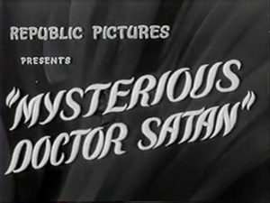 Title screen for Mysterious Doctor Satan.