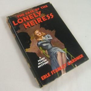 The Case of the Lonely Heiress book cover.