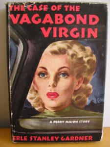 The Case of the Vagabond Virgin book cover.