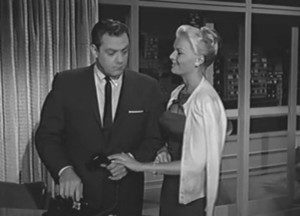 Perry Mason and the ex-wife.
