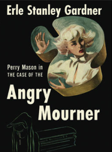 Book cover for the Case of the Angry Mourner.