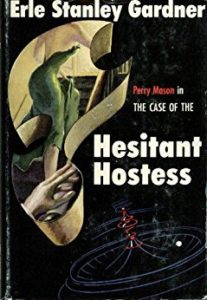 Book cover for The Case of the Hesitant Hostess