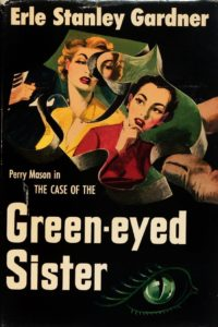 Book cover for The Case of the Green-eyed Sister