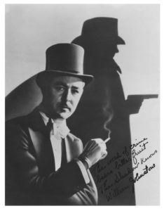 Bill Johnstone was The Shadow for five years.