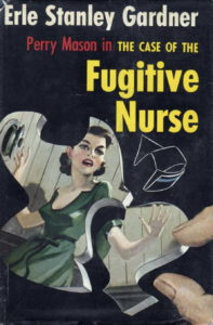 Book cover for The Case of the Fugitive Nurse
