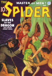 The Spider cover — lurid as always!