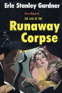 The Case of the Runaway Corpse book cover.