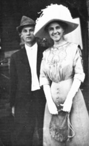 A young Erle Stanley Gardner and his first wife, Natalie Talbert.