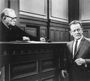 Erle Stanley Gardner in one of his several appearances as a judge.