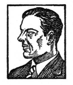 Henry Arnaud, as depicted in the pulps.