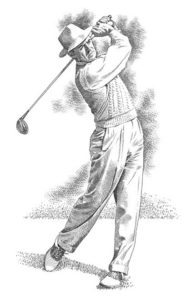 Henry Arnaud, businessman, golfer and... The Shadow!