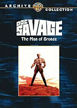 Doc Savage: The Man of Bronze DVD