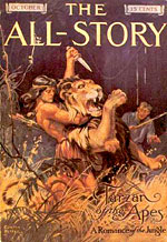 Tarzan first appeared in The All-Story magazine.