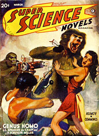 """Super Science Novels"" (March 1941)"
