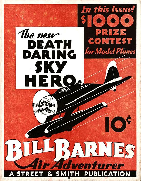A poster for Bill Barnes, Air Adventurer