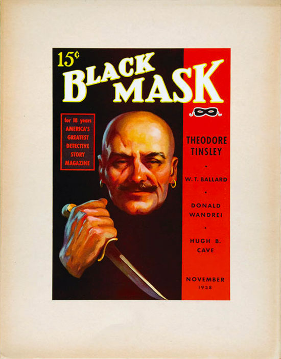 "An advertising poster for ""Black Mask"""
