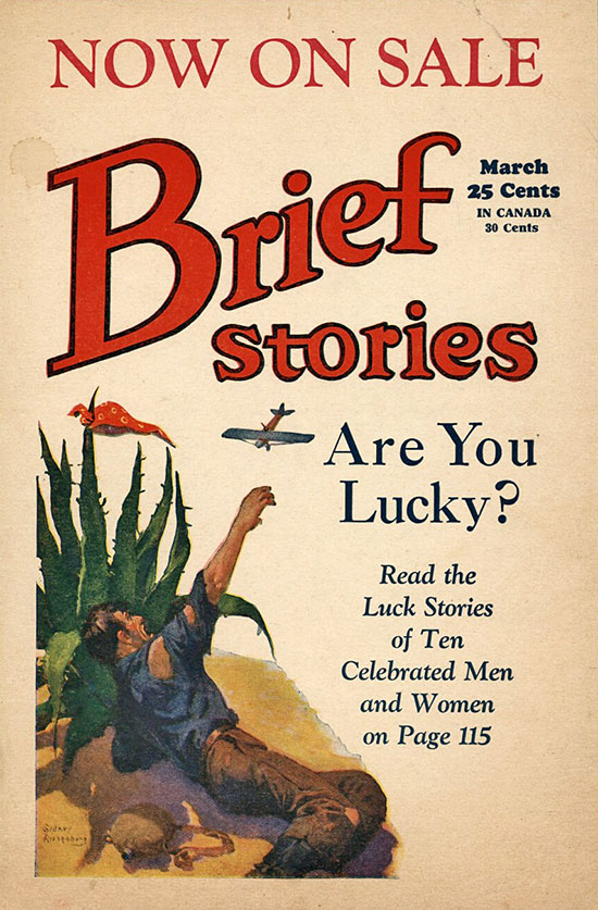 A poster for Brief Stories