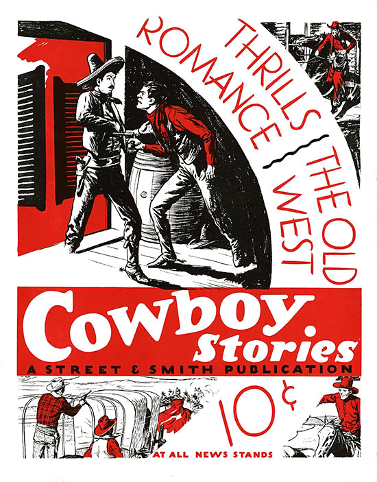A poster for Cowboy Stories