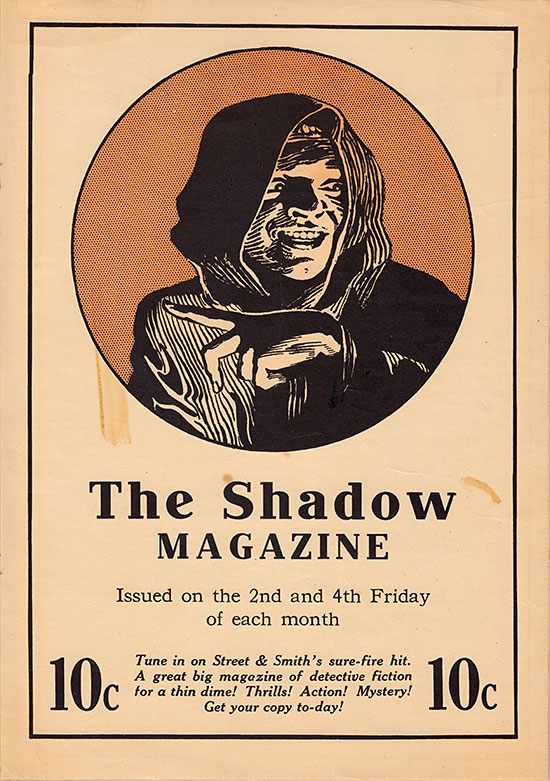 The Shadow poster