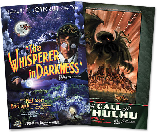 H.P. Lovecraft movie posters