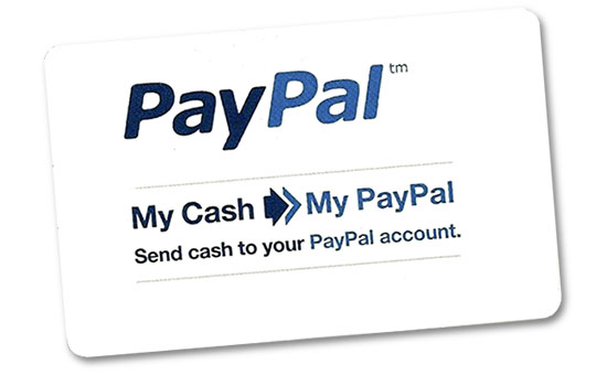 PayPal Cash Card