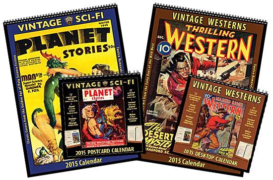 Asgard Press pulp calendars